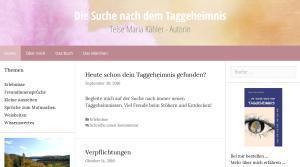 Taggeheimnisse unter www.taggeheimnis.de