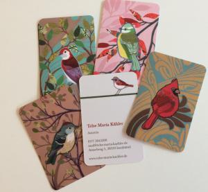 Visitenkarten für Telse Maria Kähler