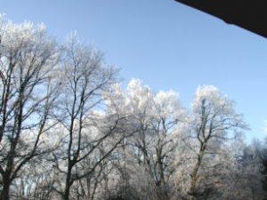 Ob Schneeflocken flüstern können?