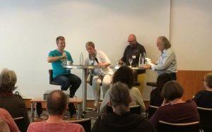 Self-Publishing-Day 2017 mit Ruprecht Frieling, Elke Bergsma, Belá Bolten und René Junge