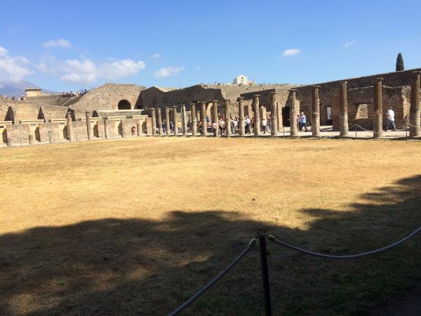 Besuch in Pompeji