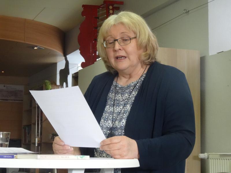 Telse Maria Kähler liest am 10.2.2018 in Ehra-Lessien