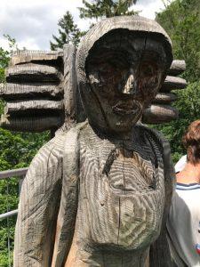 Kiepenfrauen im Harz