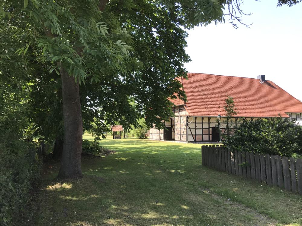 ein Niedersachsenbauernhaus in Isenbüttel