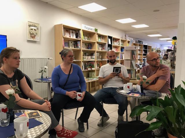 Autorencafé in der Buchhandlung König in Fallersleben