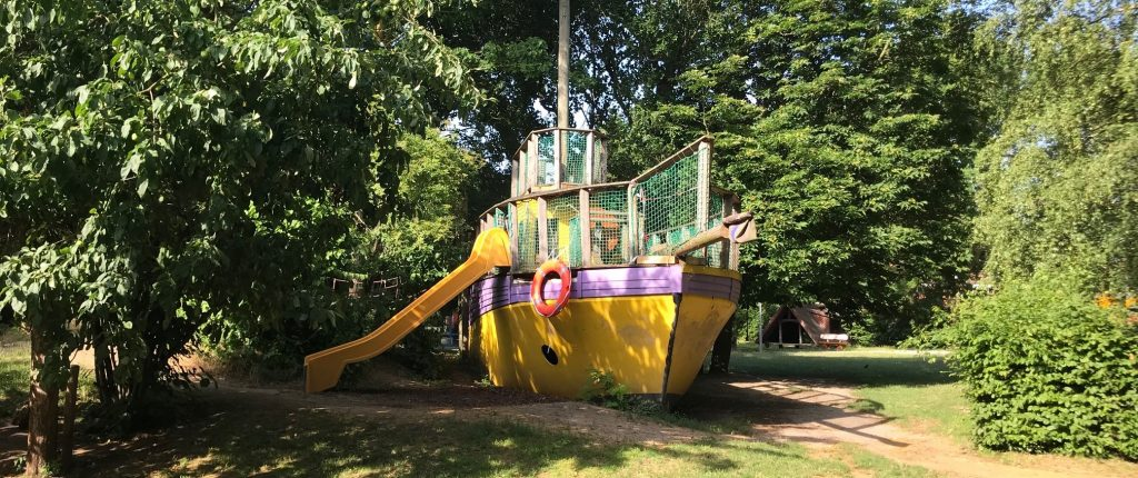 Spielboot im St. Marien Kindergarten