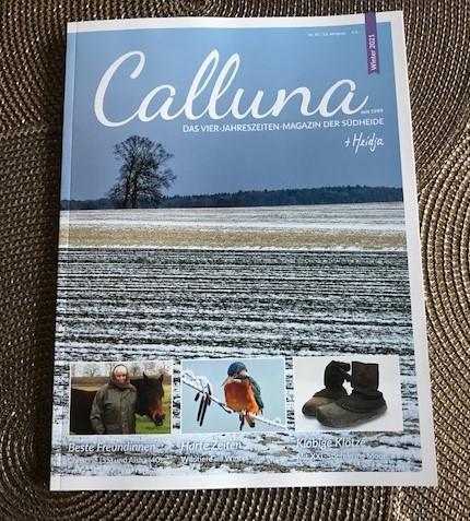 Calluna, das Vier-Jahreszeiten-Magazin der Südheide