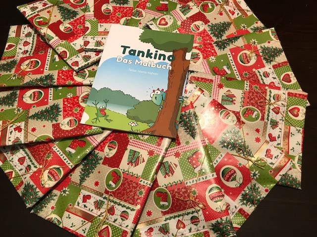 Tankino - Das Malbuch - Weihnachten im Kinderkrankenhaus