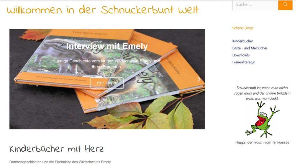 Schnuckerbunt - Onlineshop