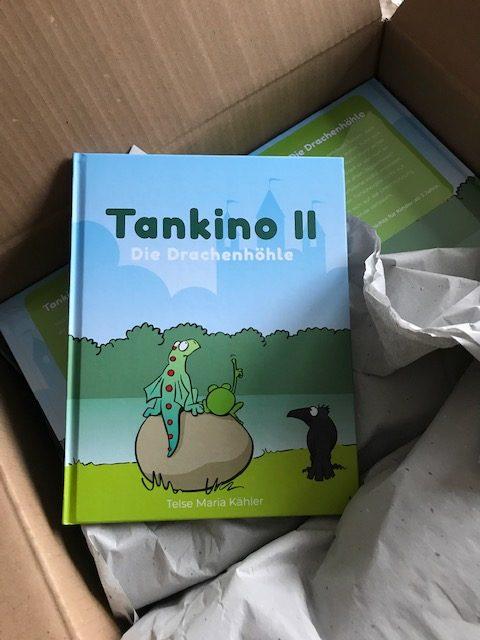 Tankino II - Die Drachenhöhle - die ersten Bücher