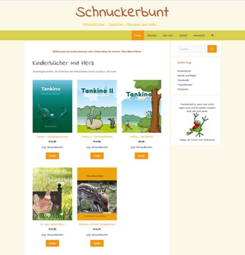 Schnuckerbunt - Online-Shop der Autorin Telse Maria Kähler