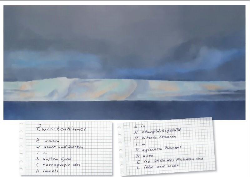 ZWISCHEN HIMMEL ein Kunstbuch von Heike Czerwonka Dörges und Telse Maria Kähler