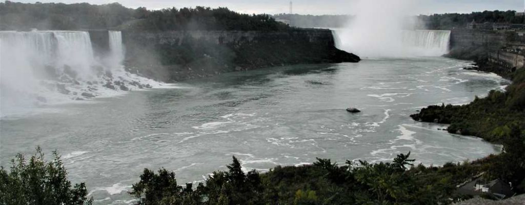 Besuch an den Niagarafällen